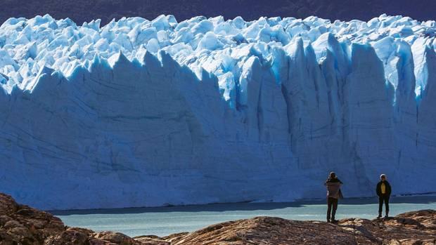 Der Perito Moreno gehört zu den wenigen Gletschern Patagoniens, die nicht schrumpfen.