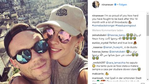 Manuel Neuer Nina Neuer