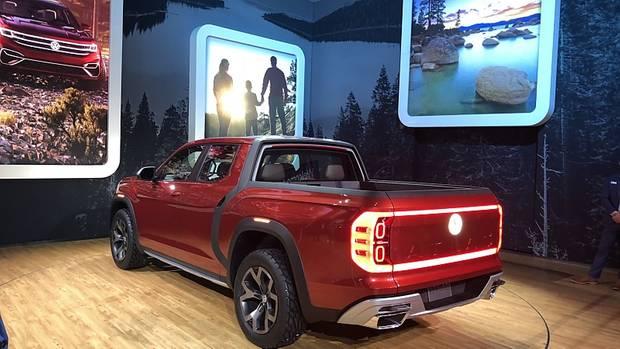 VW Atlas Tanoak - auf einen Pick Up kann Volkswagen in den USA kaum verzichten