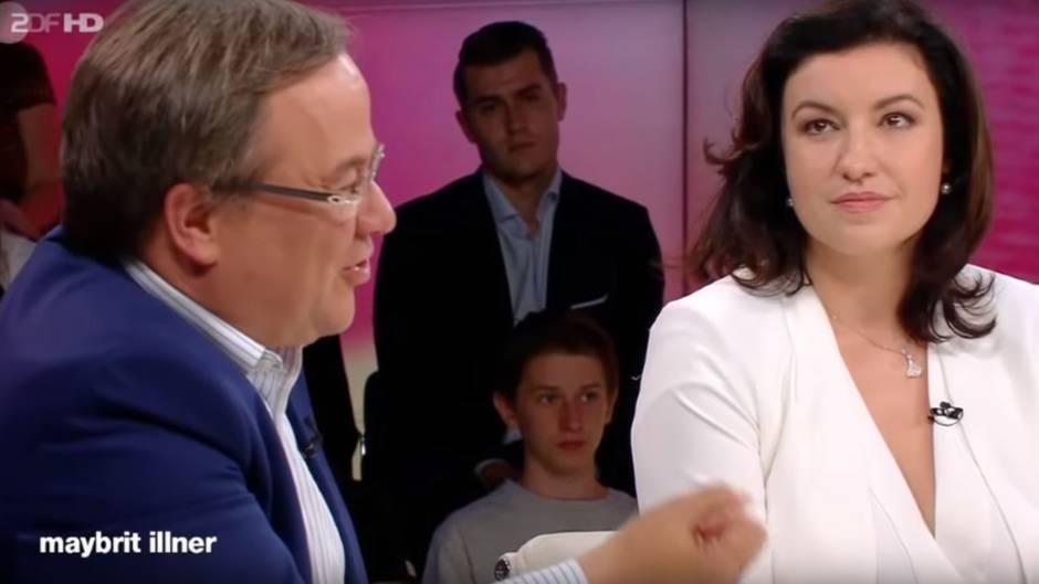 Armin Laschet und Dorothee Bär bei Maybrit Illner - CDU und CSU weiter uneins im Asylstreit
