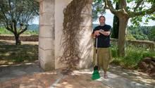 Aussteiger Bauchi in Boris Beckers Villa