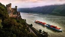 Reisetipp Rhein: Burgen und Wein, gutes Essen und große Heiterkeit: