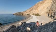 Auf dem Weg entlang der Südwestküste Kretas trifft man beim Wandern über Stunden kaum auf andereMenschen.