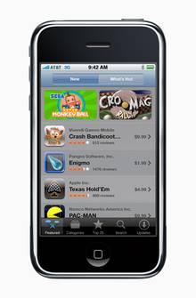 Lang, lang ist's her: Der App Store auf dem Ur-iPhone.