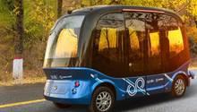 Der Bussoll Fahrgäste nur kurze Entfernungen weit transportieren.