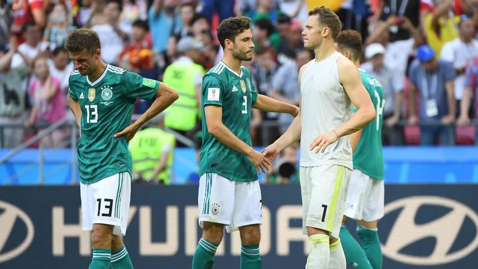 Kein Trübsal blasen: Was macht die DFB-Elf eigentlich nach dem frühen WM-Aus?