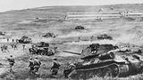 Die zusätzlichen Tanks erhöhten die große Reichweite des T-34 weiter.