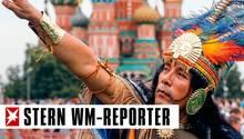 Russland: Das WM-Gastgeberland  zeigt sich lebensfroh