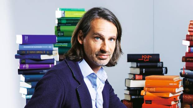 """Richard David Precht : """"Nur zu googeln reicht nicht"""""""