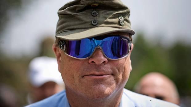 Dirk Niebel hatte schon als Minister ein Faible fürs Militärische