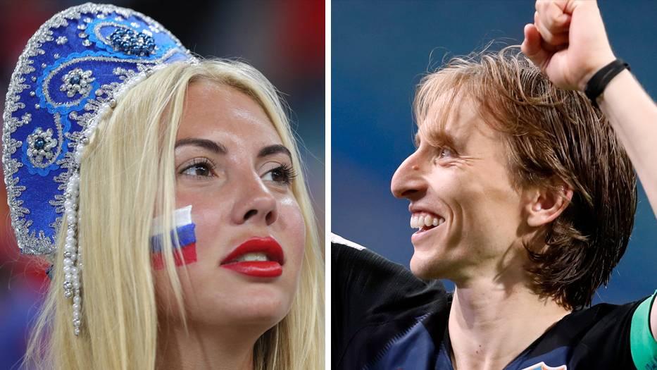 WM 2018: Emotionen pur: Kroatische Fans bejubeln Halbfinaleinzug, Tränen bei Gastgeber Russland