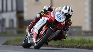 Rennfahrer William Dunlop wurde nur 32 Jahre alt. Hier bei einem Rennen im Mai.