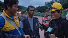 Höhlen-Drama in Thailand: Erste Jungen gerettet, weitere auf dem Weg