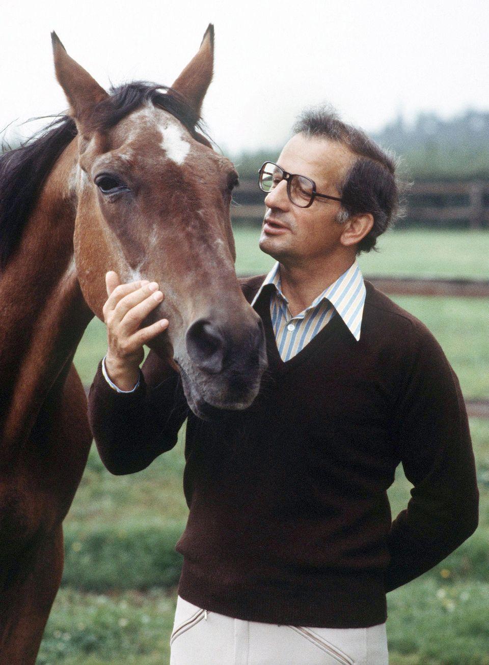 Hans Günter Winkler mit Pferd Halla