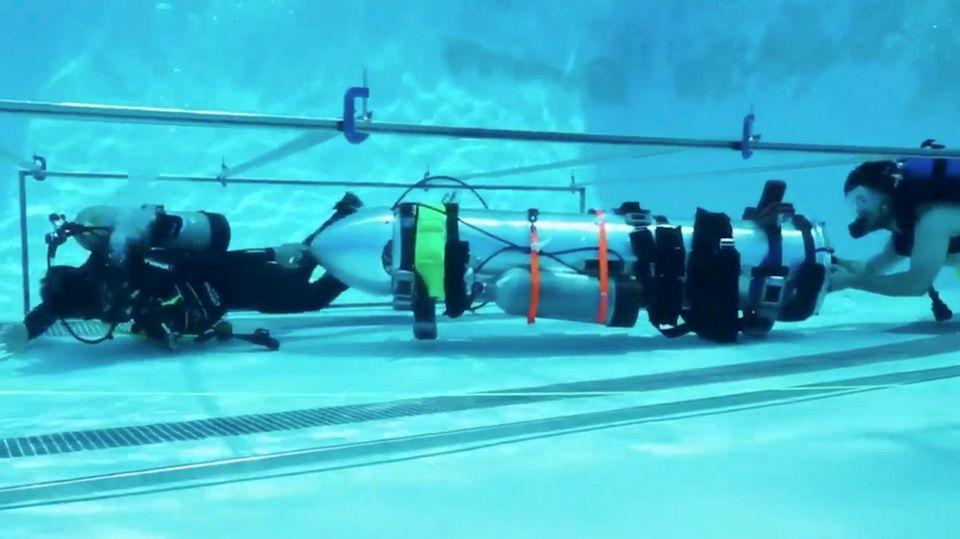 Elon Musk setzt seine Ingenieure bei SpaceX nun auf den U-Boot-Bau an.