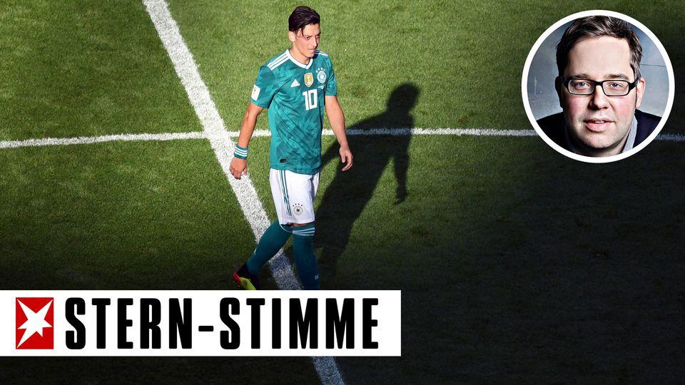 Mesut Özil im Fokus - auch bei den DFB-Verantwortlichen