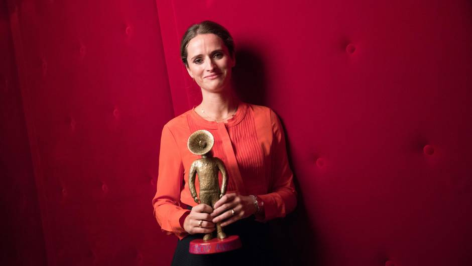 "Verena Pausder vom Berliner Startup ""Fox and Sheep"" gewann 2016 den scoop Award."