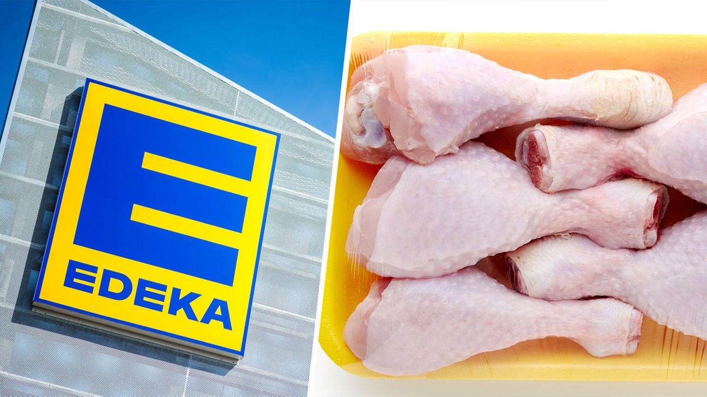 Edeka verkauft Hähnchenschenkel für 15 Cent