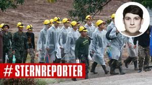 Höhlen-Drama: stern-Reporter Raphael Geiger berichtet aus Thailand