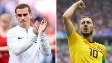 wm 2018 spielplan - halbfinale - Belgien frankreich