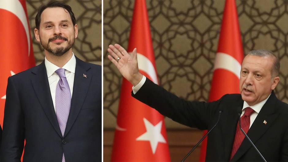 Türkei: Erdogan ernennt Schwiegersohn zum Finanzminister