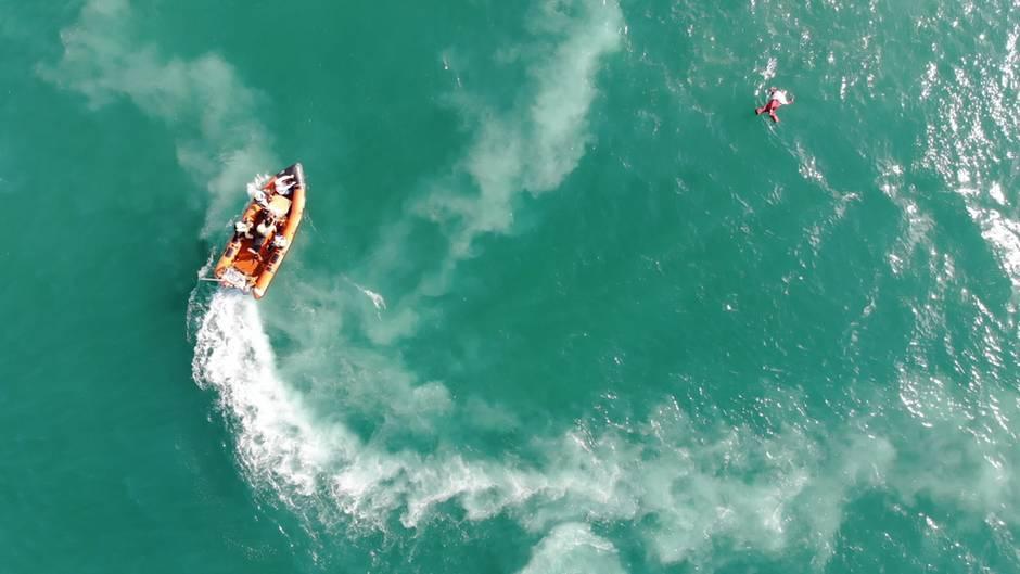 """JWD: Team Joko an Bord der """"Sea-Watch 3"""" im Mittelmeer"""