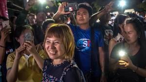 Freude in Thailand: Alle 13 Eingeschlossenen aus Höhle gerettet