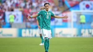 Mesut Özil steht seit Wochen im Fokus