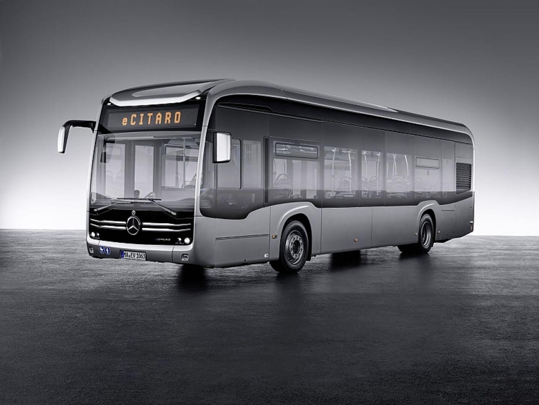 Der Mercedes eCitaro schafft bis zu 250 Kilometer Reichweite