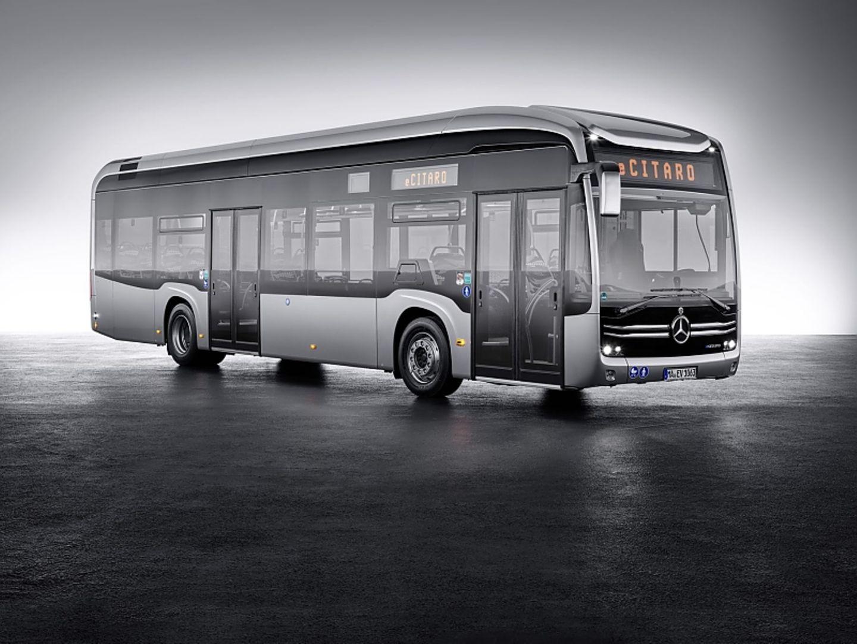 Der Mercedes eCitaro hat auch ein frischeres Design