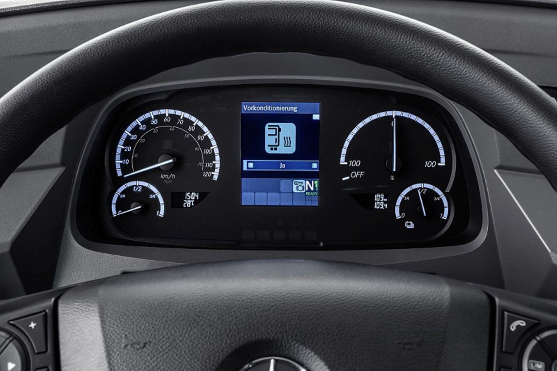 Die Rundinstrumente des Mercedes eCitaro