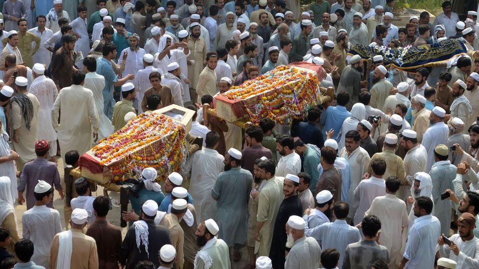 Selbstmordattentat in Pakistan