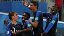 Frankreich jubelt nach dem Einzug ins Finale