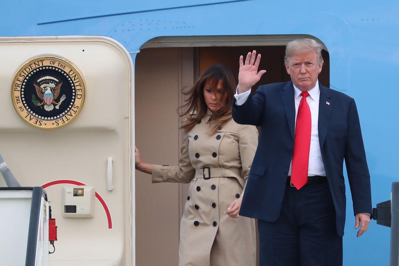 Trump in Brüssel zum Nato-Gipfel