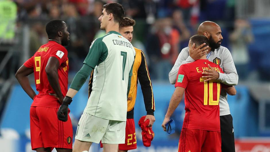 Belgien ist nach dem WM-Aus enttäuscht
