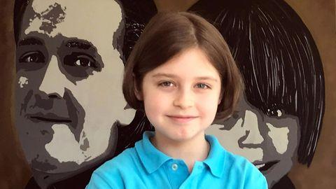 Der achtjährige Laurent Simons aus Amsterdam