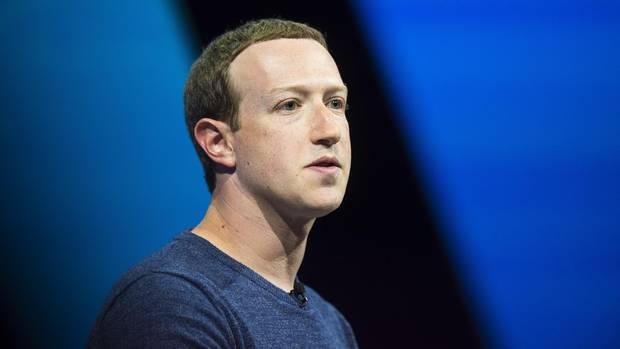 Facebook-Gründer Mark Zuckerberg