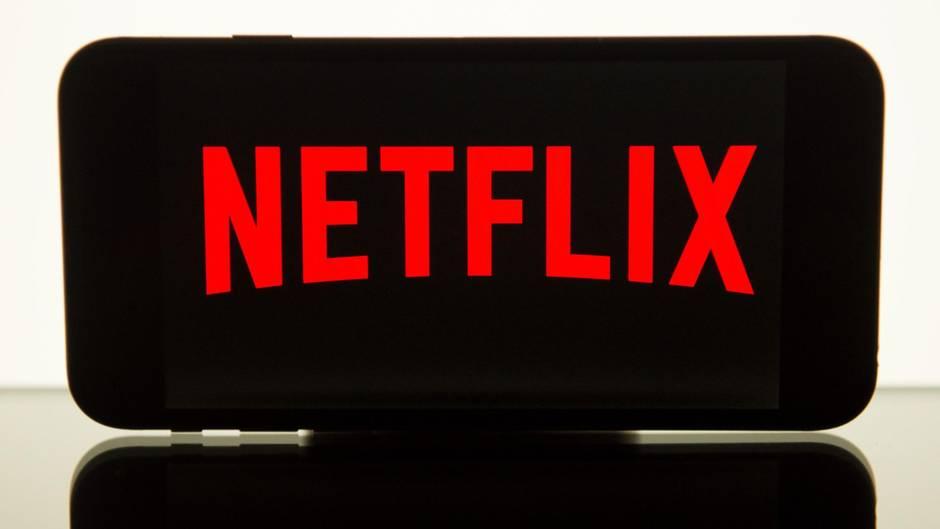 Netflix-Logo auf Smartphone