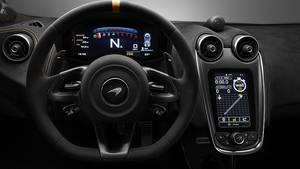 Das Cockpit des McLaren 600LT