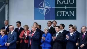 Donald Trump auf Nato-Gipfel