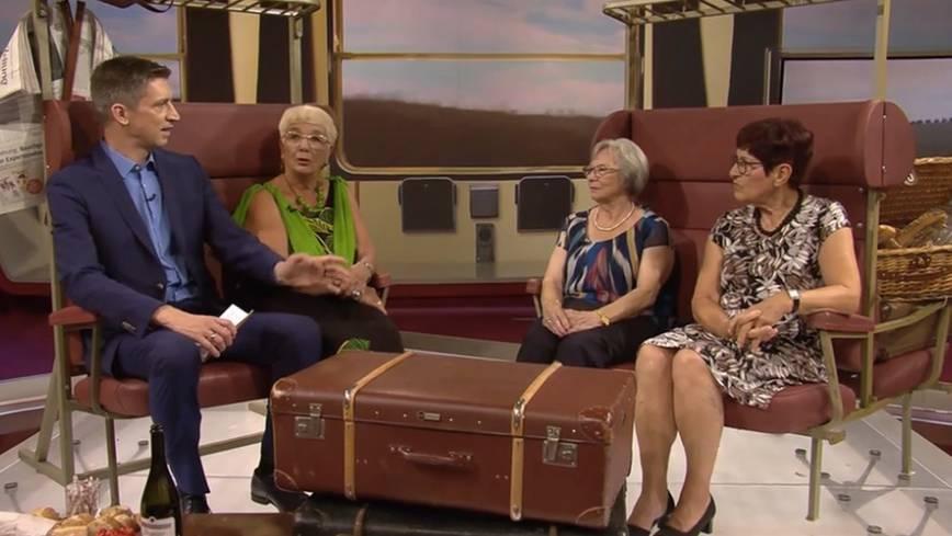 Studiogespräch mit Interrail-Seniorinnen: So haben die drei Rentnerinnen ihre Interrail-Reise erlebt