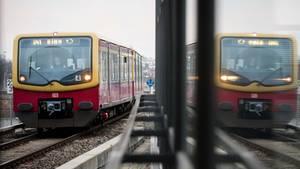 Eine Ringbahn in Berlin
