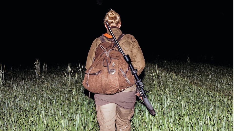 """""""Smaug""""nennt Steinbach ihr Gewehr, nach dem Drachen aus """"Der Hobbit"""""""