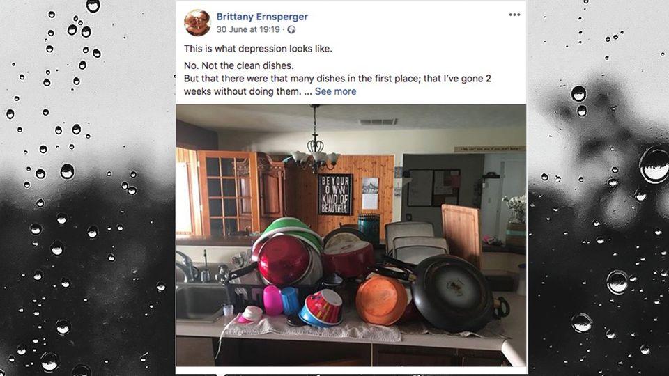 Brittany Ernsperger auf Facebook