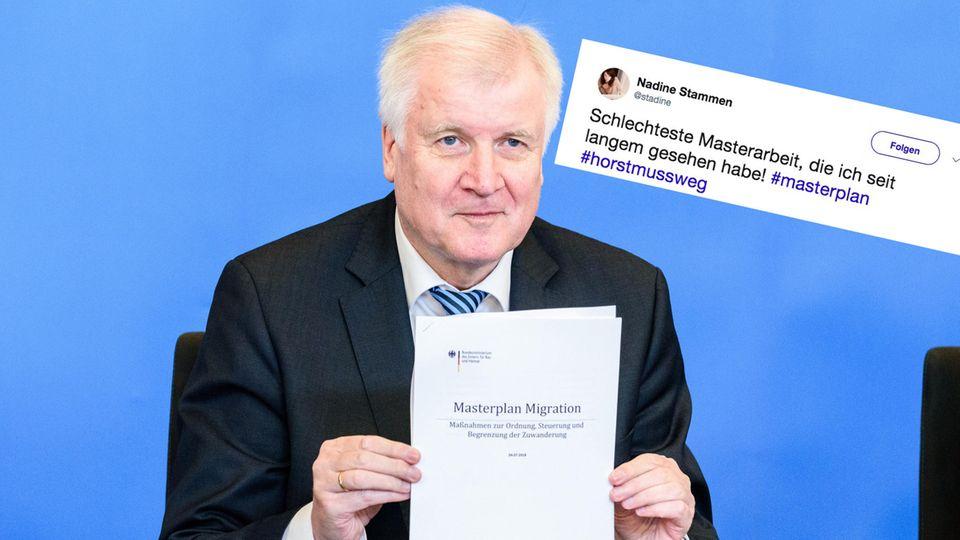 Horst Seehofer und sein Masterplan Migration