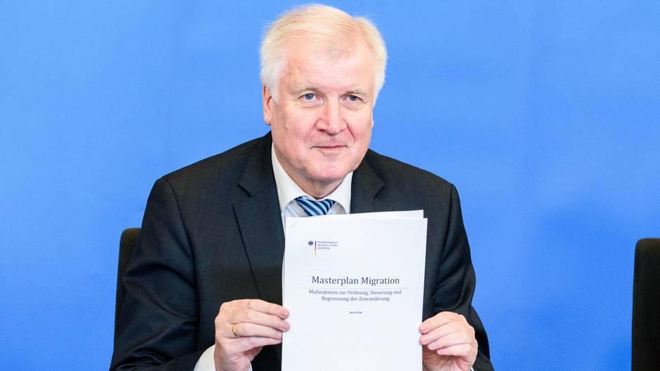 Horst Seehofer und sein Masterplan