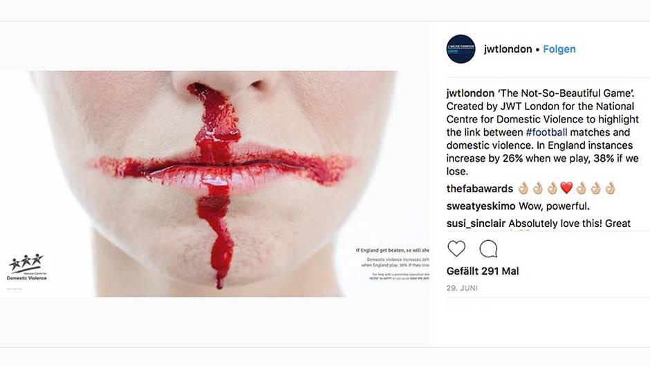 Kampagne gegen häusliche Gewalt