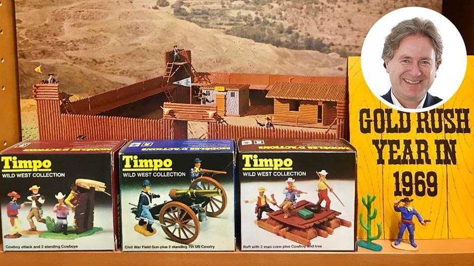 Wildwest-Spielfiguren von Timpo