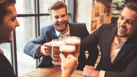 Bier mit Kollegen