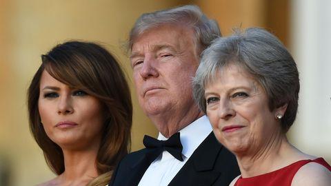 """Donald Trump fällt Theresa May in den Rücken: May verbockt den Brexit - """"sie hat nicht auf mich gehört"""""""